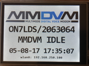 MMDVMHost + Nextion | on7lds net